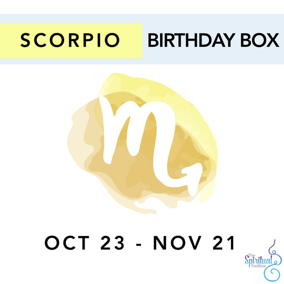 Scorpio Birthday Box