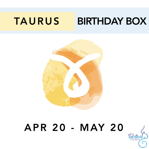 Taurus Birthday Box