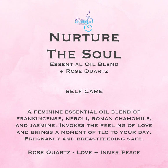 Nurture The Soul Essential Oil Roll On 15ml