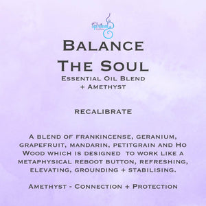 Balance The Soul Essential Oil Roll On 15ml