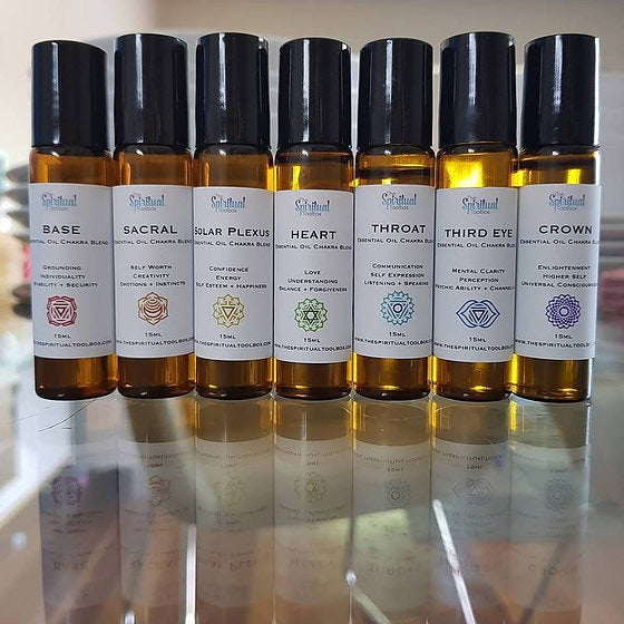 15ml Chakra Essential Oil Roll On
