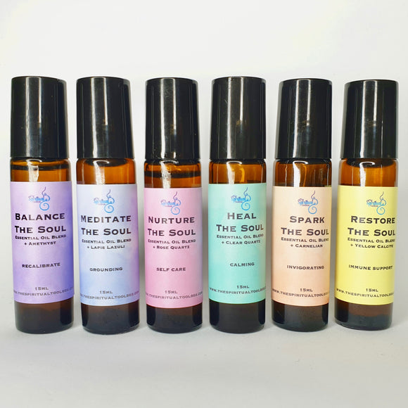 'The Soul' All 6 Essential Oil Blends