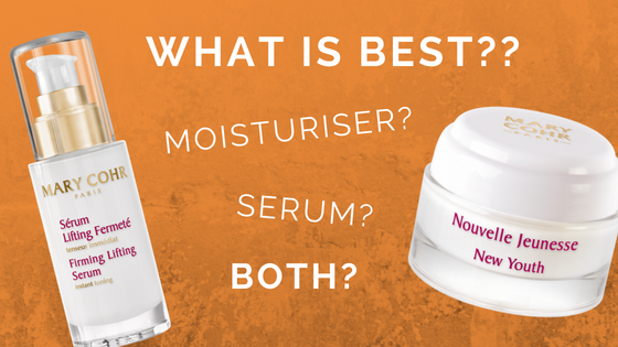 How are serums and moisturisers different?