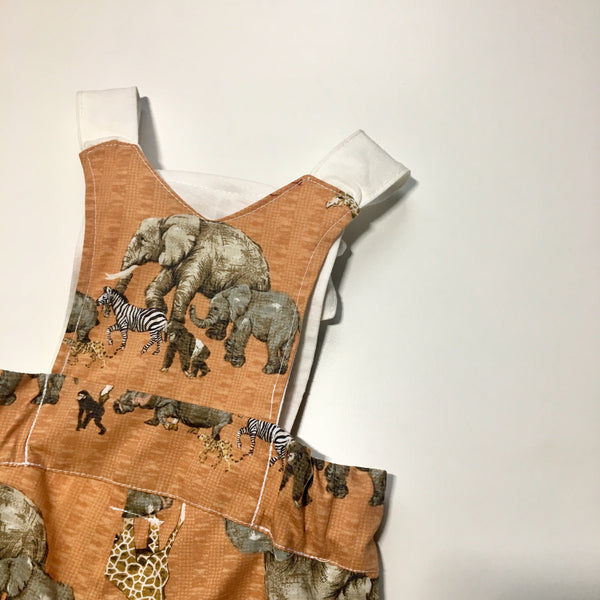 Unisex Safari Short Overalls