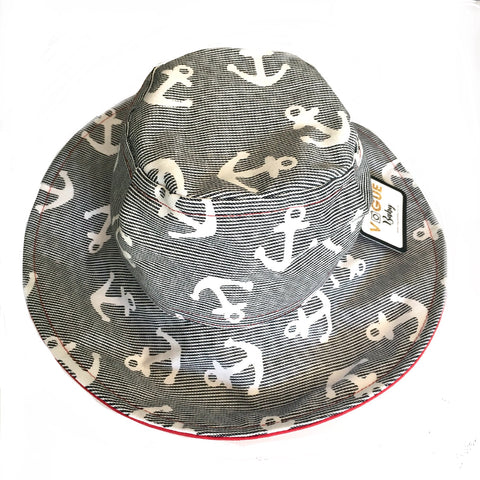 Nautical Anchors Hat