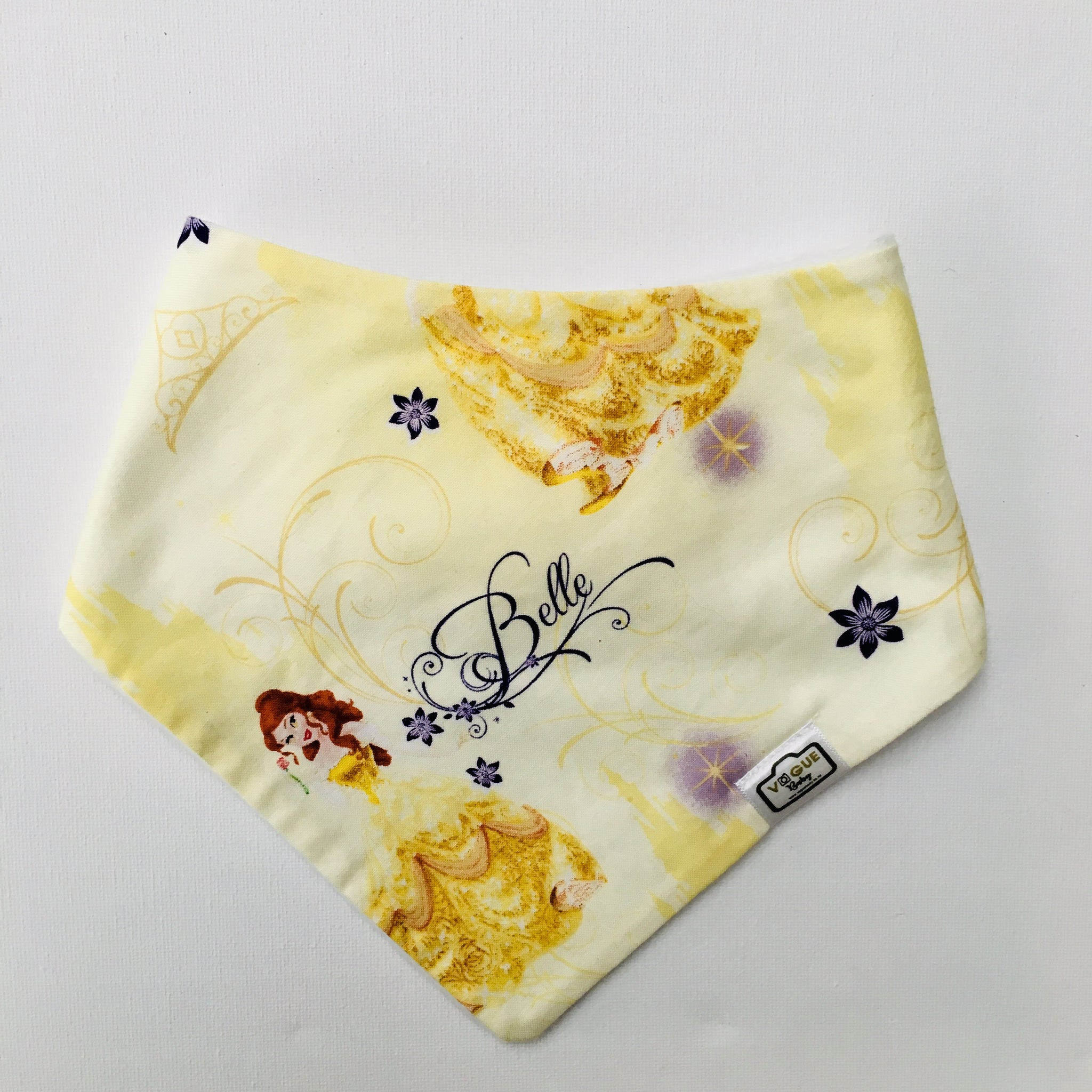 Beauty + Beast Bandana Bib