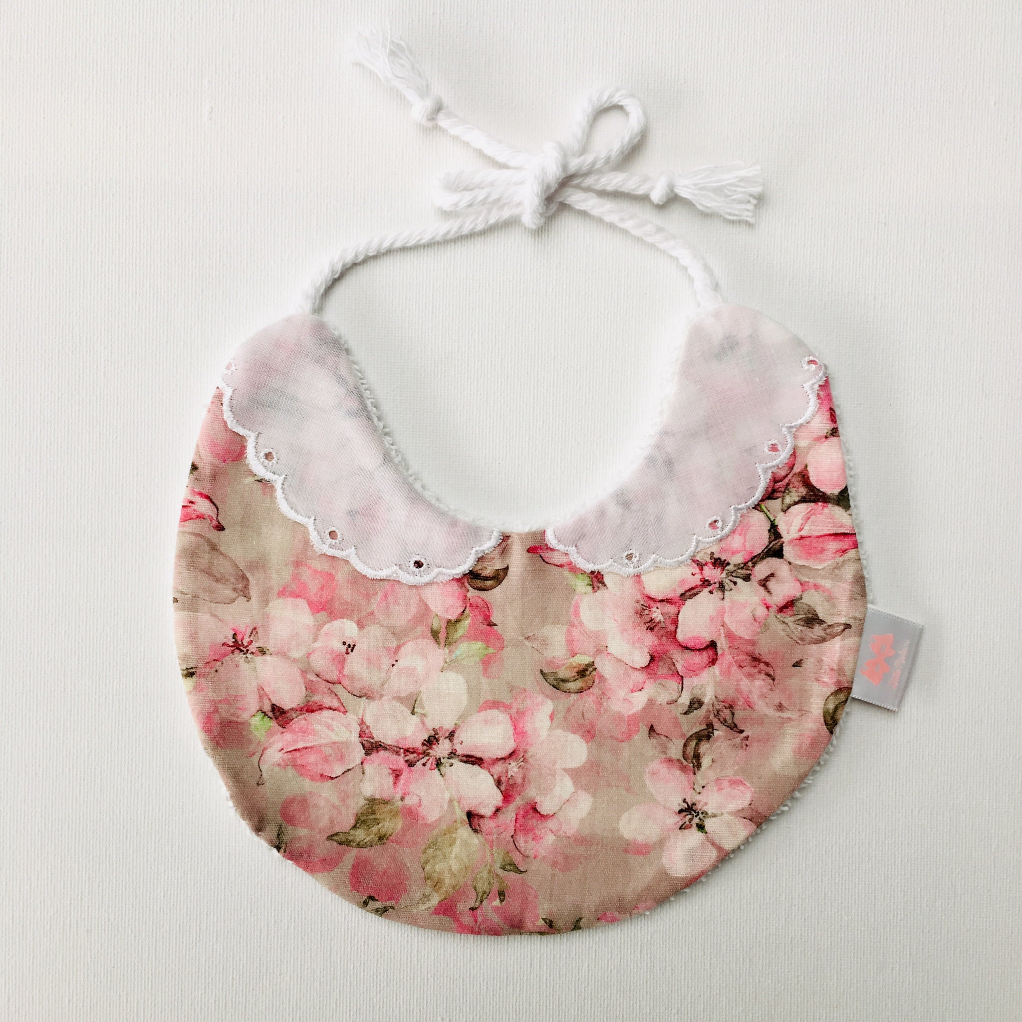 Cherry Blossom Collar Bib