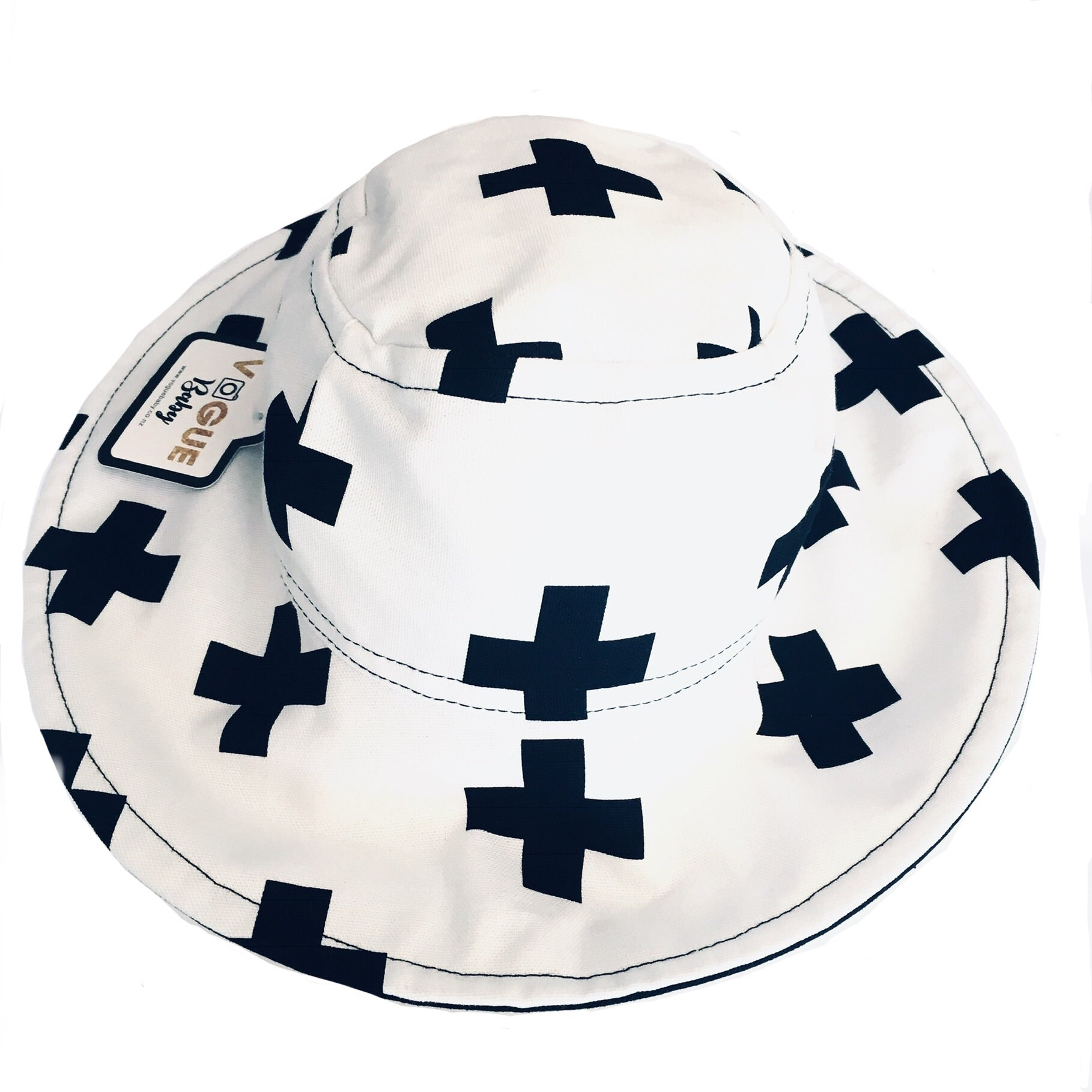 Black Crosses Hat
