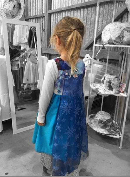 Frozen Blue Dress