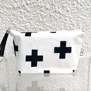 Black Crosses Purse