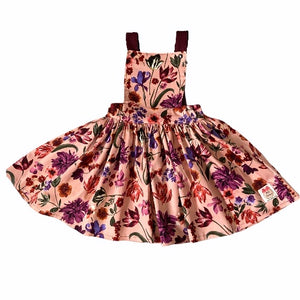 Mulberry Floral Reversible Pinafore