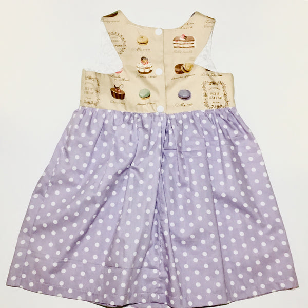 French Macarons Lilac Dress