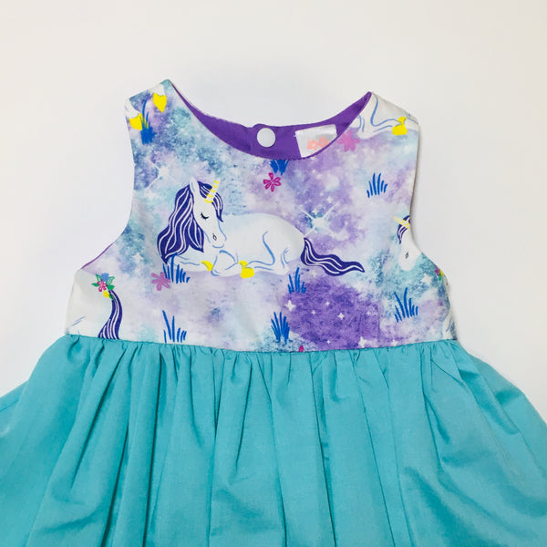 Racer Back Unicorn Dress