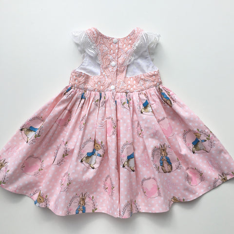 PRE-ORDER : Peter Rabbit Lace Dress