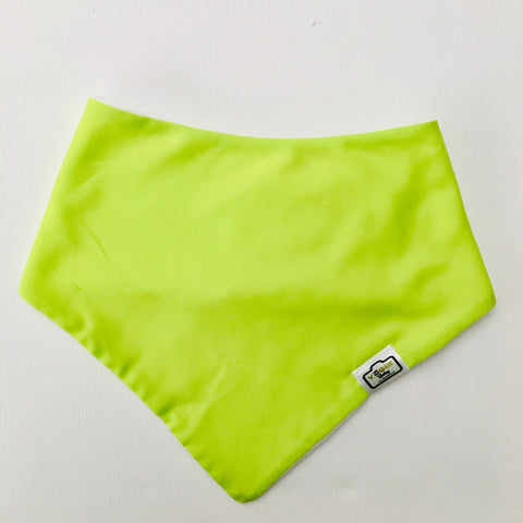 Lovely Lime Bandana Bib