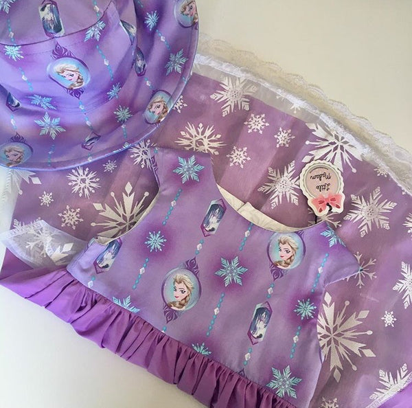 Frozen Elsa Purple Dress