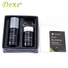 DEXE Hair Building Fibers + Hair Locking spray