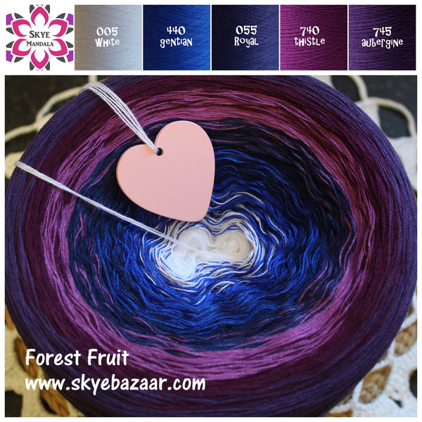 Skye Mandala Yarn FOREST FRUIT 005-440-055-740-745