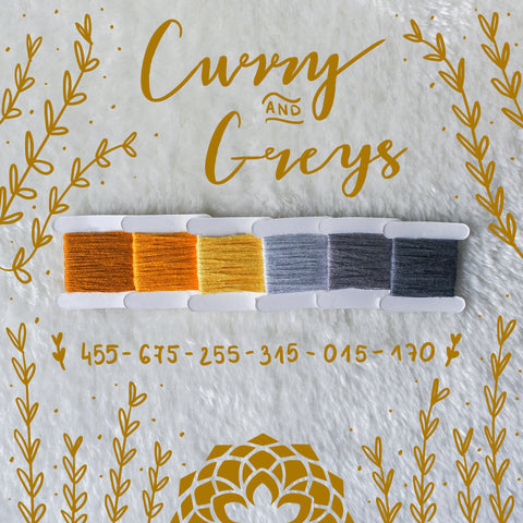 CURRY AND GREYS 455-675-255-315-015-170