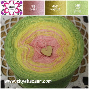 MINI MANDALA 200 g 3 or 4 ply (1019) 185-605-265