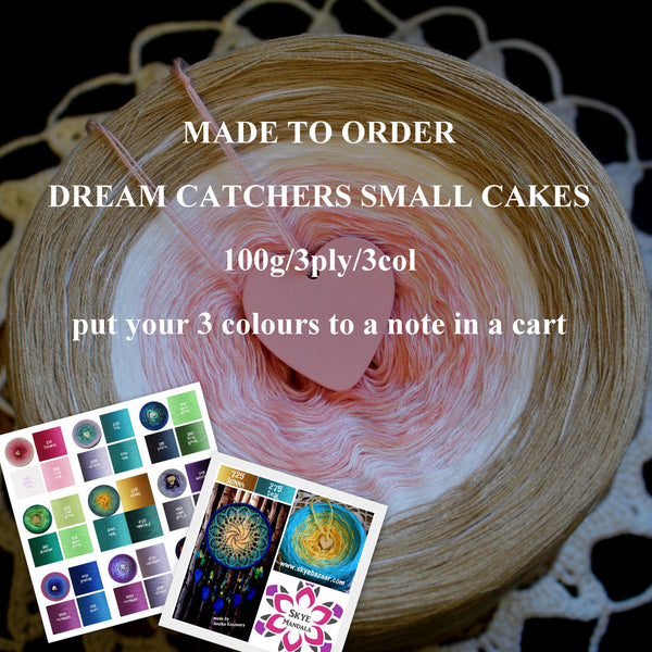 MADE TO ORDER Dream Catcher's Mandala 100G/3ply/3col