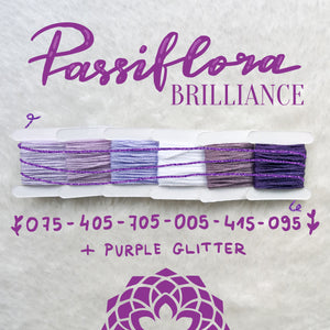 PASSIFLORA BRILLIANCE 075-405-705-005-415-095+PURPLE GLITTER