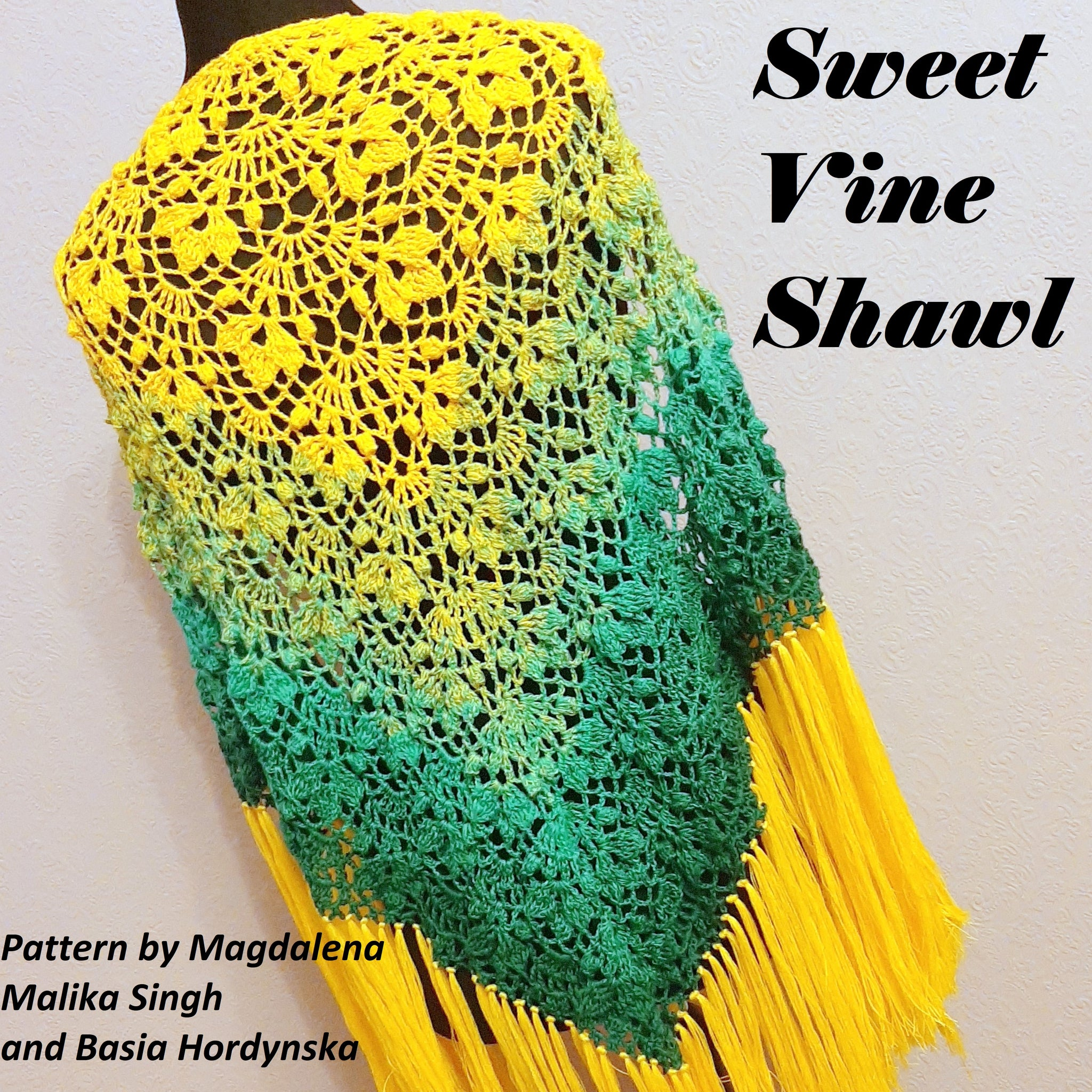 Sweet Vine Shawl Crochet Pattern