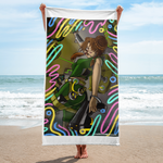 WildFIRE: Naomi - Code Breaker (Beach Towel)