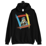 "KotKB ""I Care Jackson!!!"" Hoodie – Rainbow – Black – NoText"