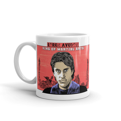 "Loren Avedon ""King Of Martial Arts"" 11oz Coffee Mug"