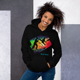 """Just Kick It!"" Hoodie – Black"