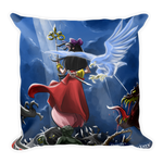 The Ryukage: The Holy Priestess (Throw Pillow)