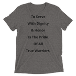 C.D.U.L.O: For Honor & Pride ( 1st LT. Dozer Delangura ) T-shirt