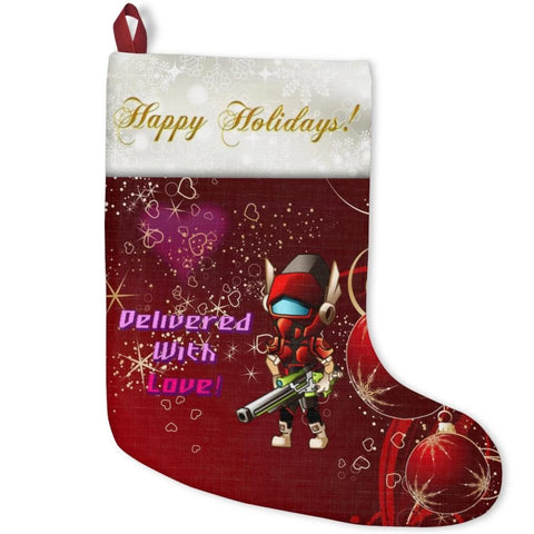 """Delivered With Love!"" Christmas Stockings"