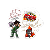 C.D.U.L.O.: Blowin` Shit Up! Color (Sticker)