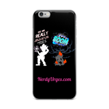 C.D.U.L.O.: Blowin` Shit Up! iPhone Case (White Logo)