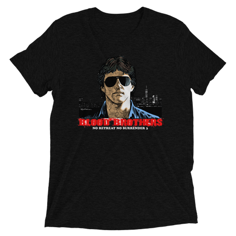 """Blood Brothers"" T-shirt #1 – Black"