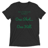 C.D.U.L.O: One Shot (LT. Meg Reevers) Mens T-Shirt
