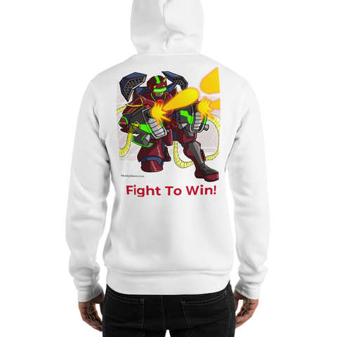 Red Dragon Clan: Take No Prisoners Hoodie