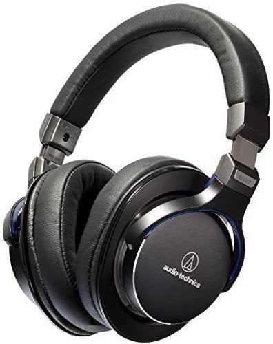 Audio-Technica ATH-MSR7BK SonicPro Over-Ear High-Resolution Audio Headphones, Black