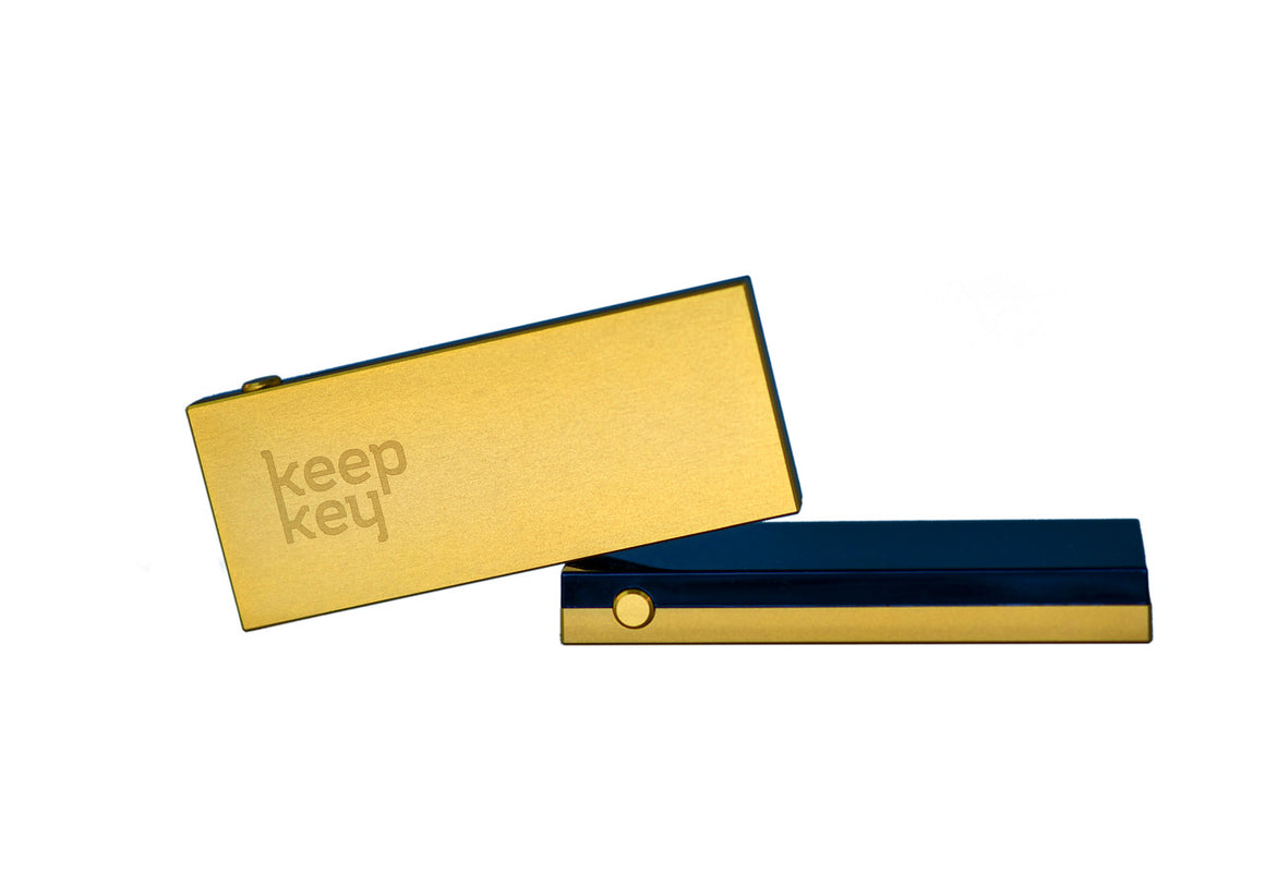 KeepKey Cryptocurrency Hardware Wallet (Gold)