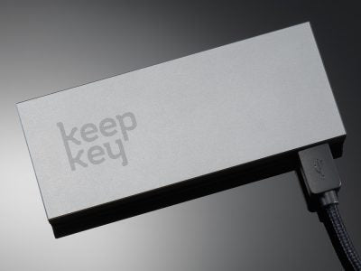 KeepKey Cryptocurrency Hardware Wallet (Classic)