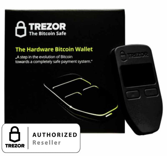 Trezor bitcoin wallet Black