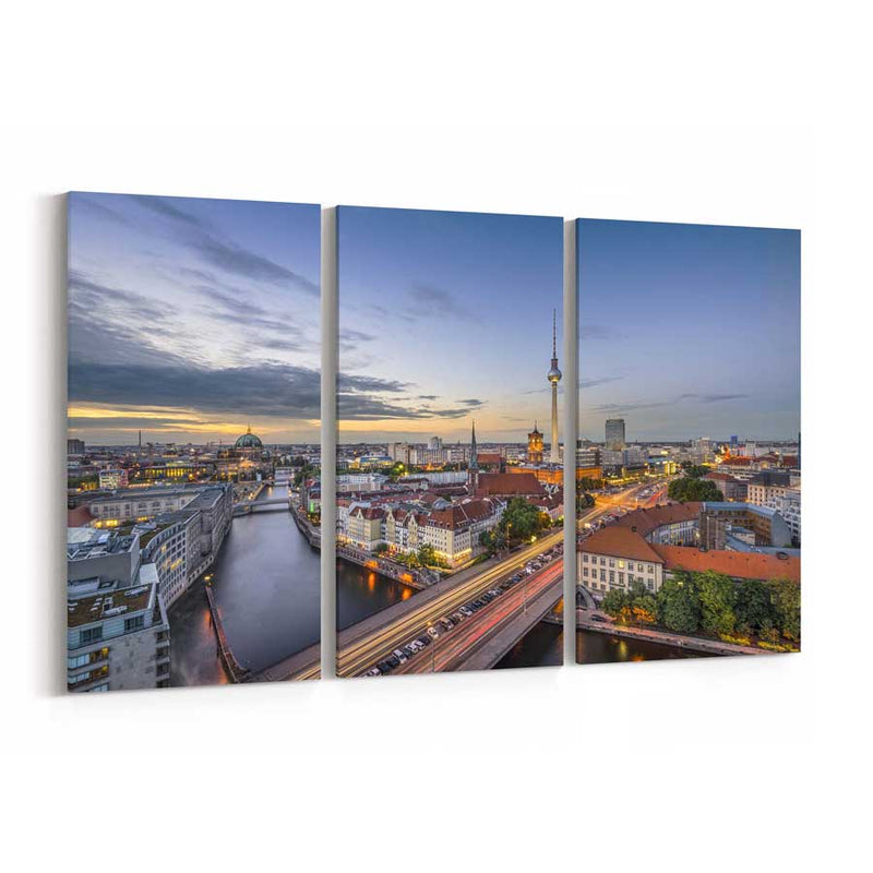 Berlin Skyline Canvas