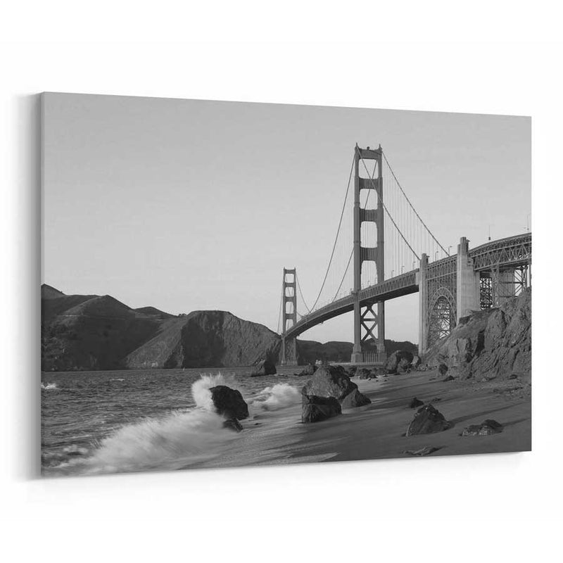 Golden Gate Bridge Skyline Canvas Wall Art