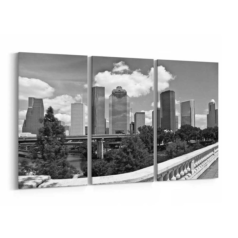 Houston Canvas Wall Art
