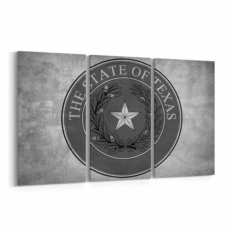 Texas  State Seal Canvas Print