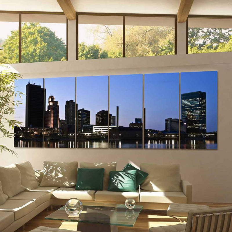 Toledo Skyline Canvas