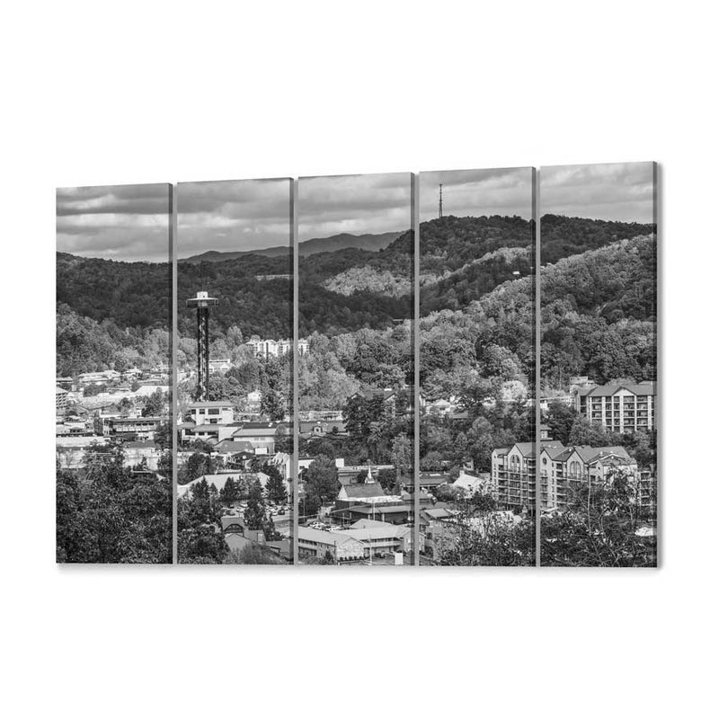 Gatlinburg Skyline Canvas Print