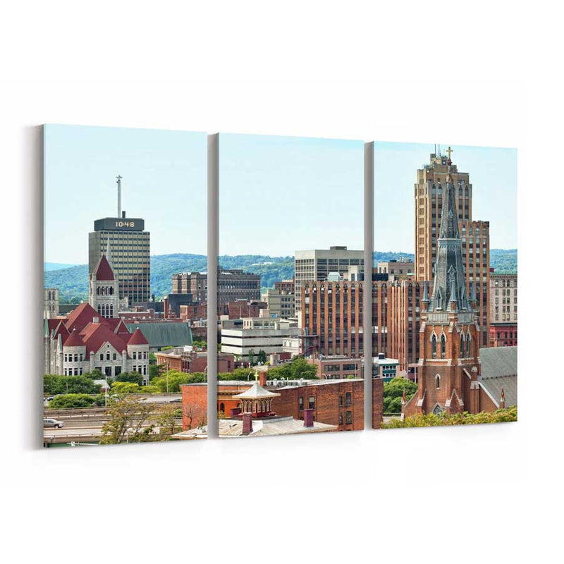 Syracuse Skyline Wall Art